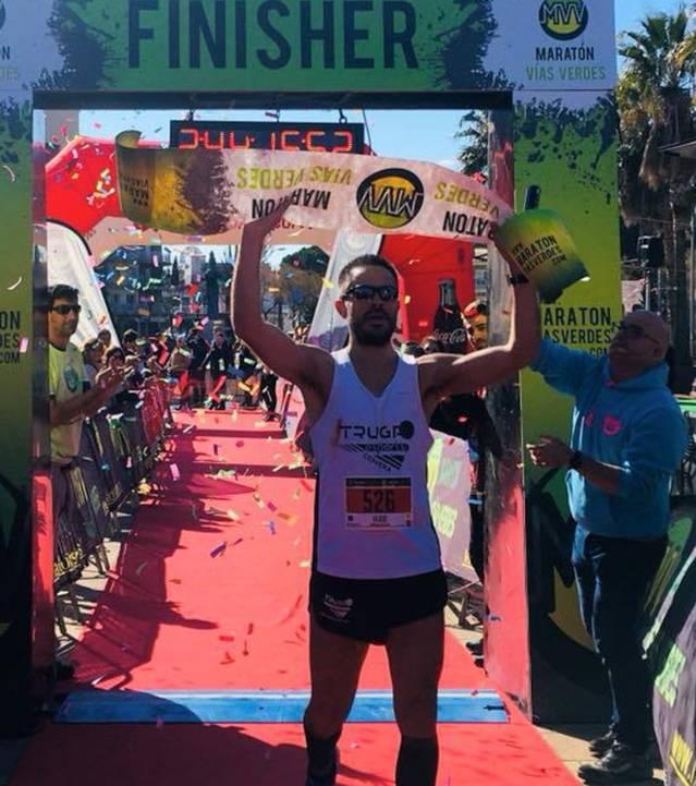 Hugo Figueras guanya la Marató Vies Verdes de Girona