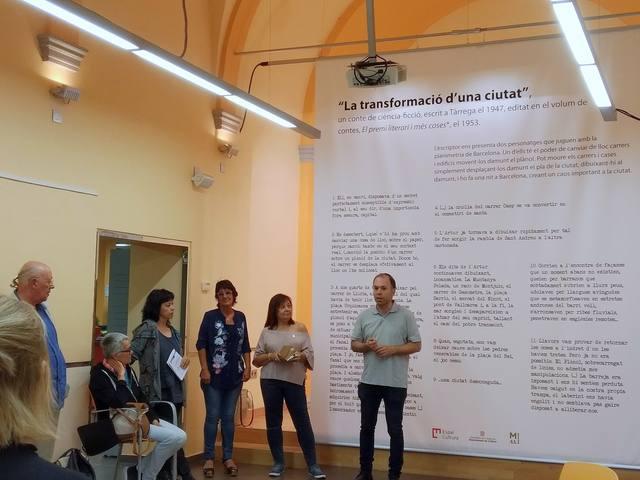"""Inauguració de l'exposició """"Itineraris"""" de Manuel de Pedrolo"""