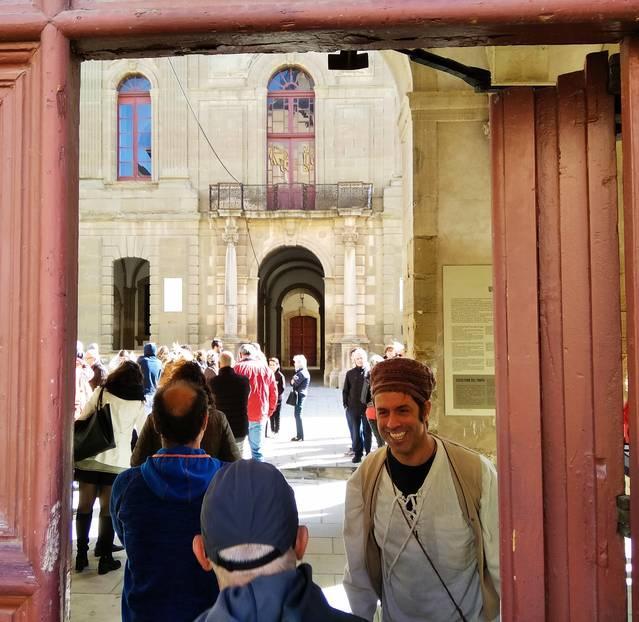 Increment de les visites turístiques a Cervera per Tots Sants