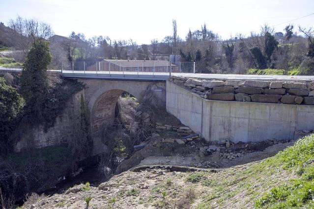 Ivorra inverteix 31.000 euros en la seguretat del pont de la Gol