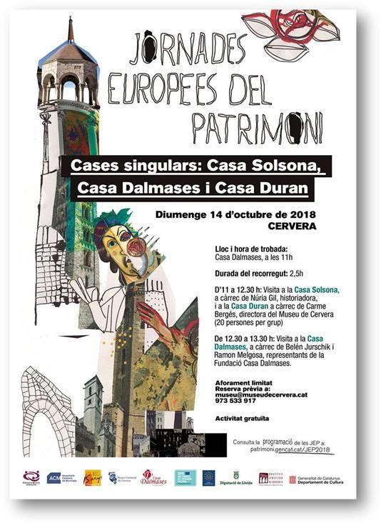 Jornades Europees del Patrimoni a Cervera