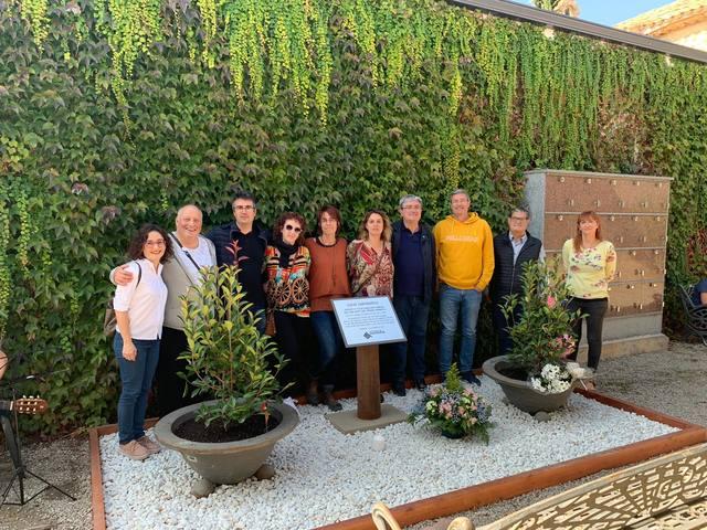 Junts Per Guissona, ERC i Primàries Guissona celebren el dia del Dol Perinatal amb un nou espai al cementiri