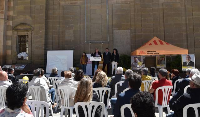La candidatura ERC-MES-AM a Cervera presenta el seu programa electoral