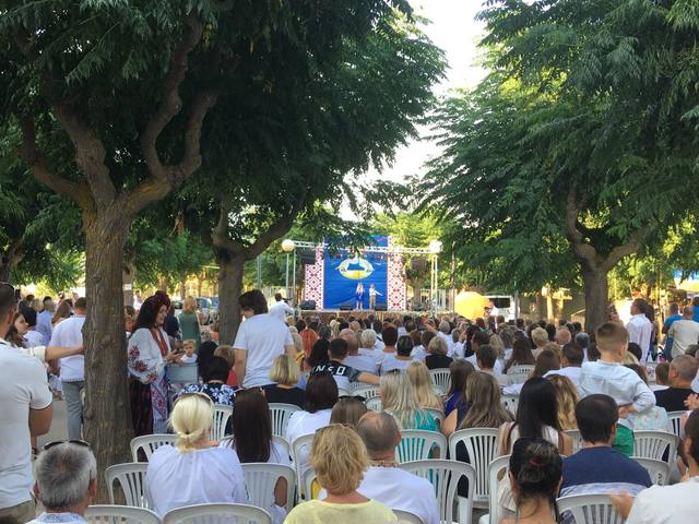 La comunitat ucrainesa celebra la seva festa a Guissona