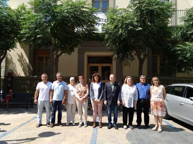 La Consellera d'Agricultura, Ramanera, Pesca i Alimentació visita Guissona