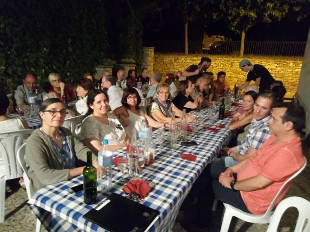 La Coral Sant Ramon va organitzar el tradicional sopar de fi de curs 2018-2019