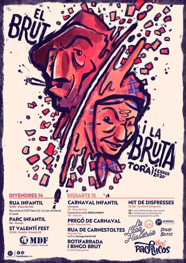 La Festa del Brut i la Bruta, la Llordera de Torà, celebra la seva 31a edició