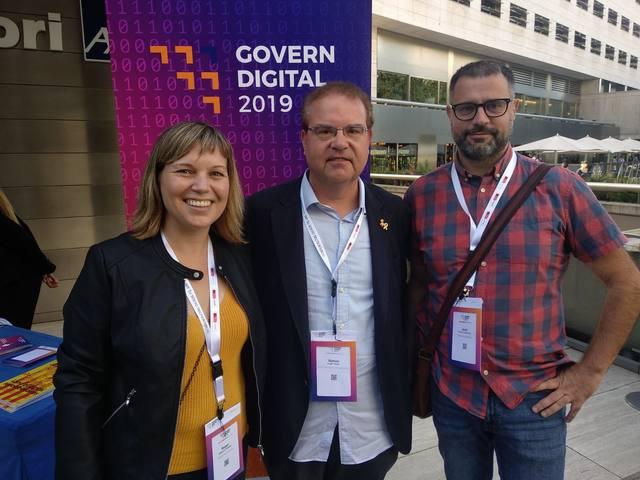 La Paeria de Cervera, present al Congrés de Govern Digital 2019