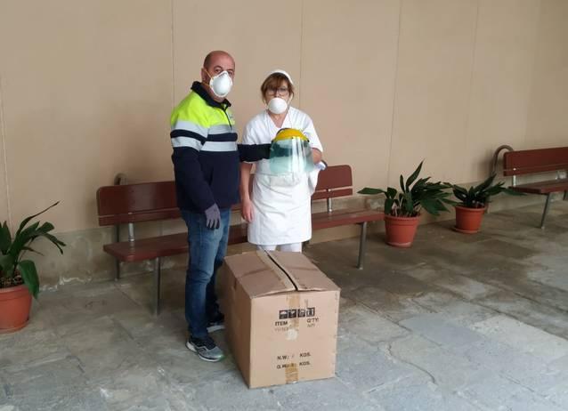 La Paeria de Cervera reparteix màscares protectores a les residències
