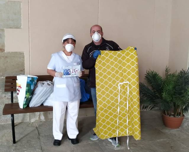 La Paeria de Cervera reparteix mascaretes a les residències del municipi