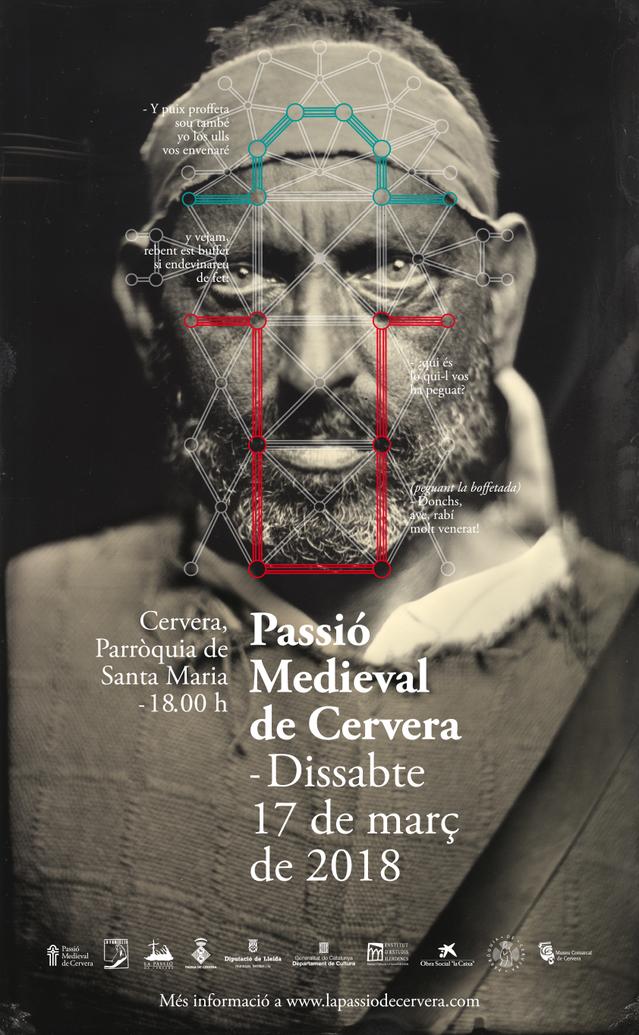 La Passió Medieval de Cervera presenta la seva nova imatge
