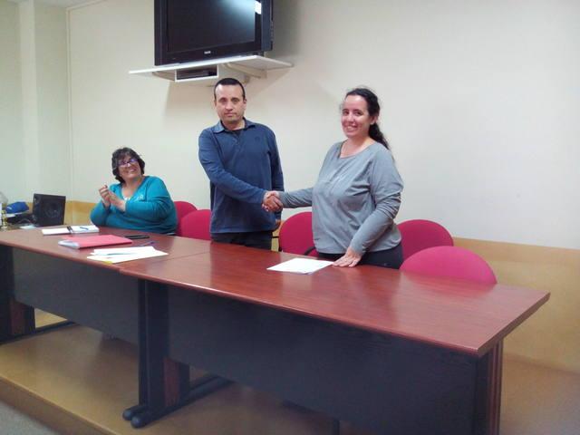 L'Ajuntament de Sant Ramon i l'AMPA de l'escola signen el conveni de col·laboració