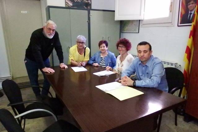 L'Ajuntament de Sant Ramon signa el conveni de col·laboració amb la Coral de Sant Ramon.