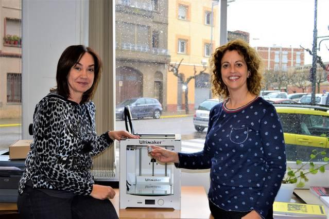 Les escoles de la Segarra ja gaudeixen d'una impressora 3D
