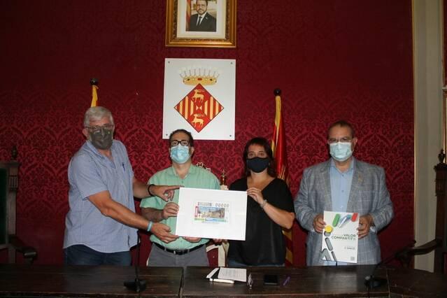 L'ONCE dedica el cupó del 22 d'agost a Cervera