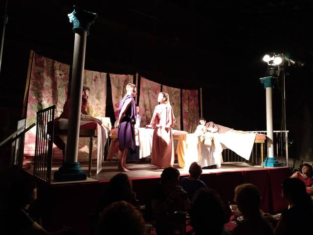 Lucrècia protagonitza el Sopar Romà de Guissona