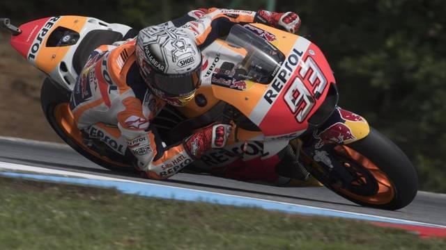Marc Márquez domina al MotoGP de la República Txeca