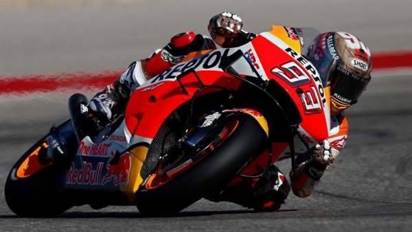 Márquez cau al GP de les Amèriques de MotoGP