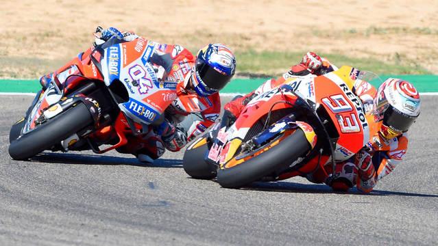 Márquez guanya a Aragó