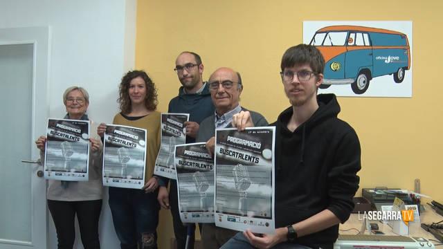 Massoteres escalfa motors per a la 9a edició del 'Buscatalents'
