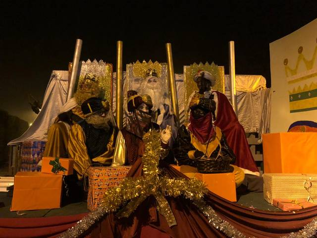 Melcior, Gaspar i Baltasar, juntament amb setze patges reials, protagonitzen una nit màgica a Sanaüja