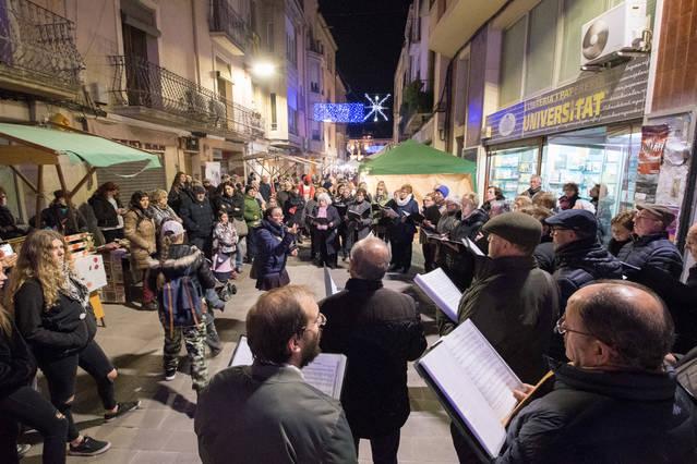 Mercat de Nadal dos caps de setmana de desembre a Cervera