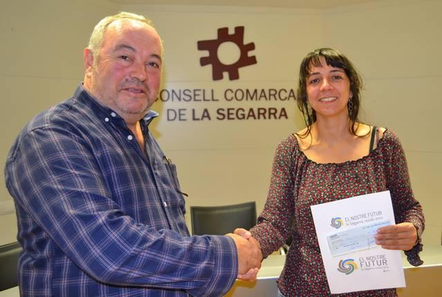 Mercè Serra, guanyadora del Concurs de la nova imatge de l'Àrea de Gestió de Residus