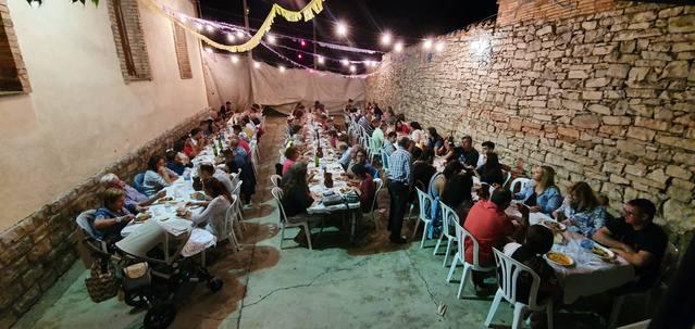 Més de 100 persones al sopar del Llor durant la seva Festa Major