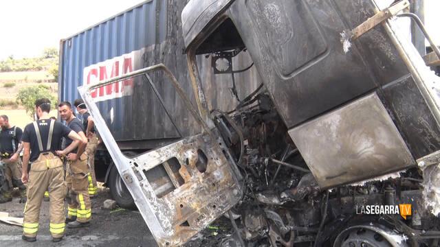 Mor el conductor d'un camió en un accident a l'A-2 a Cervera