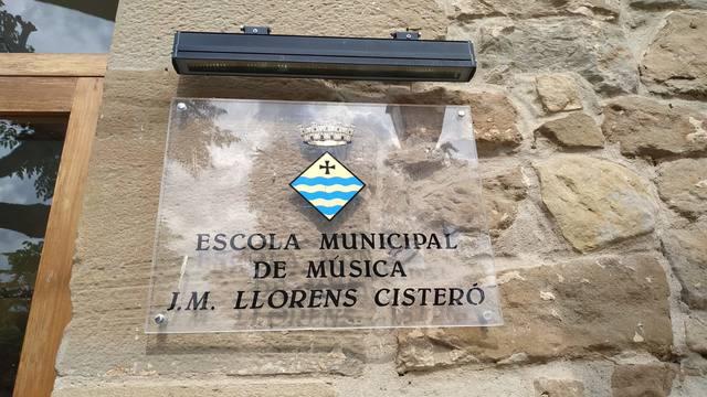 Mor MN. Josep maria Llorens Cisterió, qui dona nom a l'escola municipal de música de Guissona