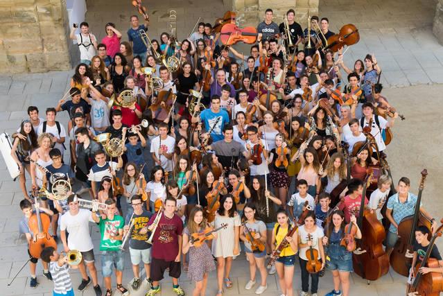 Músics i professors del curs de música s'uniexen en el concert de la Càtedra
