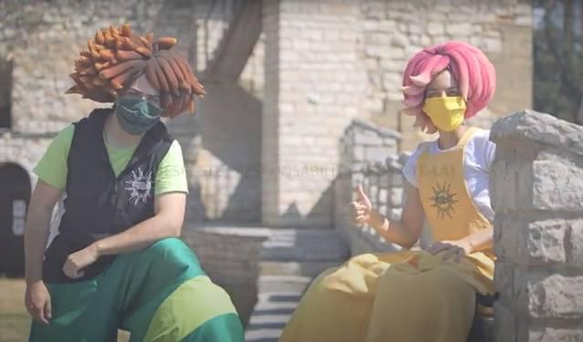 Nova campanya de 'Fadunito' i la Paeria de Cervera per promoure l'ús de la mascareta
