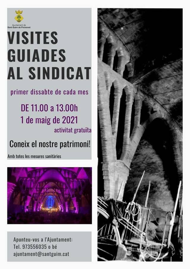 Nova jornada de visites guiades al sindicat de Sant Guim