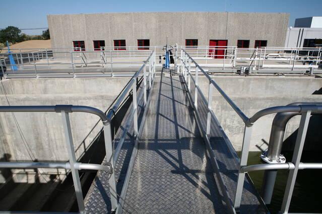 Obres de rehabilitació a la xarxa d'abastament d'aigua en alta de la Segarra
