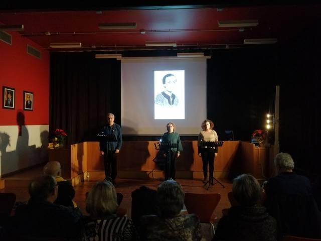 Òmnium Segarra-Urgell commemora l'any Teresa Pàmies amb una lectura i un audiovisual a Guissona