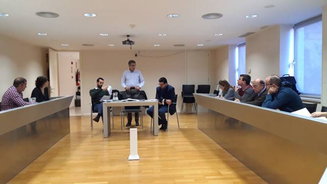 Reunió entre els ajuntaments de la comarca per consensuar la resolució dels ajuts FEDER
