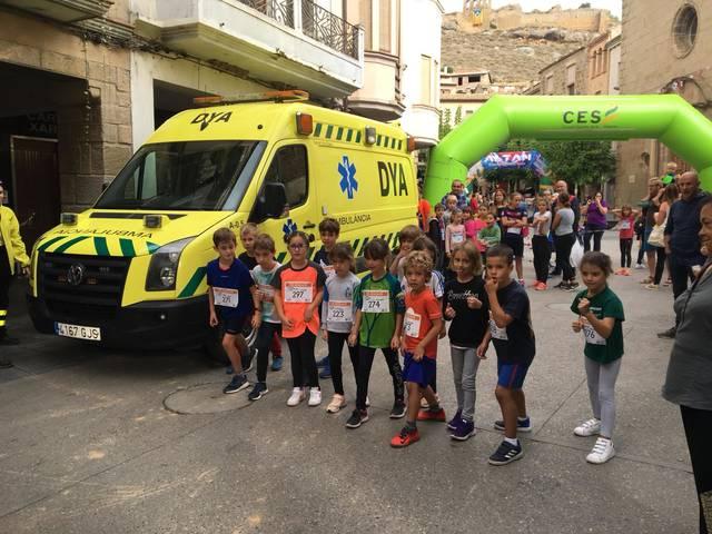 Sanaüja acull la XII edició de la Cursa Alta Segarra