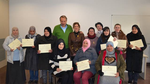 Sant Guim de Freixenet clou el curs formatiu a les persones arribades de nou al municipi