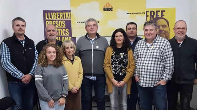 Sebastià Sellart és escollit nou president de la secció local d'ERC de Cervera