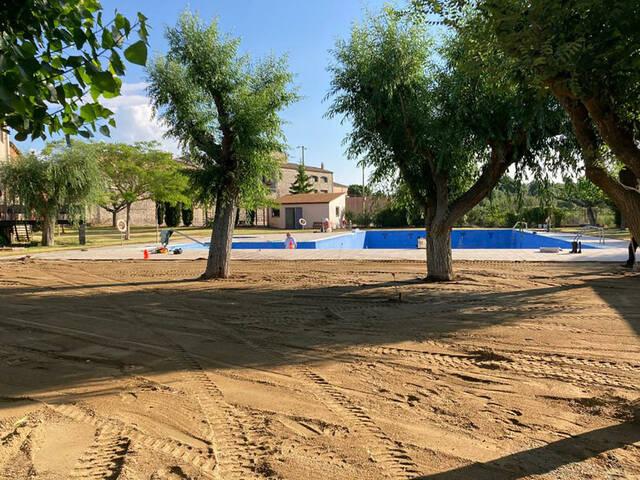 Tarroja i Sant Guim de Freixenet milloren les piscines municipals