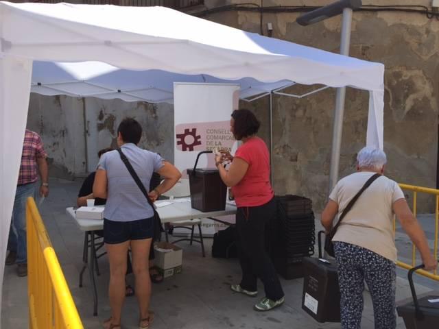 Torà, segon municipi de la comarca de la Segarra, que implanta la recollida porta a porta amb cubells amb xip