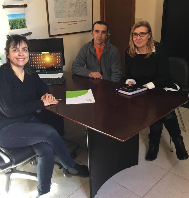 Torrefeta i Florejacs renova el conveni amb l'Associació Alba