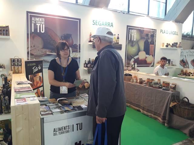 Turisme i productors de la Segarra es promocionen a la 64a Fira de Sant Miquel de Lleida