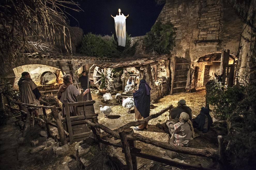 El pessebre vivent de Sant Guim de la Plana deixa 3.500 visitants