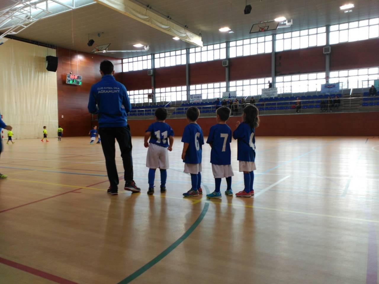 Primera trobada de promeses de futbol sala a Guissona
