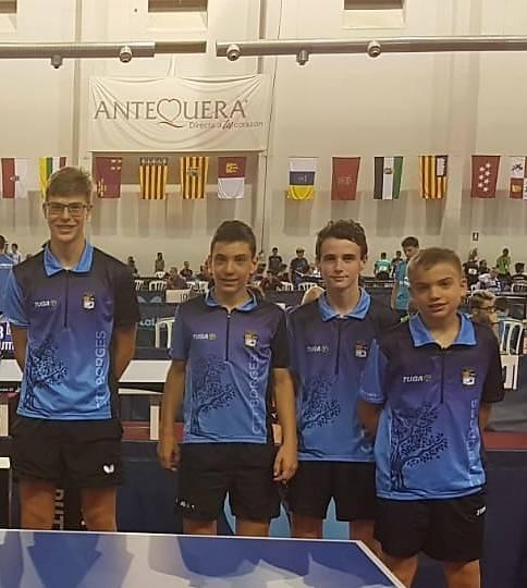6 jugadors de la CTT de Borges participen al campionat d'Espanya