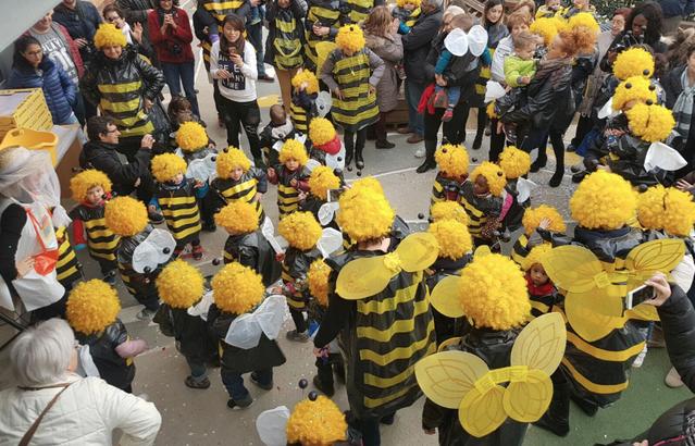 A concurs el servei de bar de les Borges per Carnaval