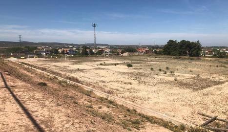 A concurs l'ampliació del recinte del camp de futbol de les Borges