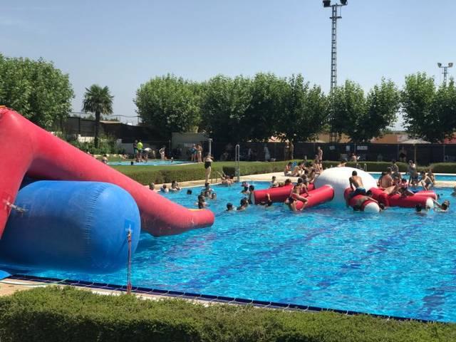 Acaben els cursets de natació a Juneda