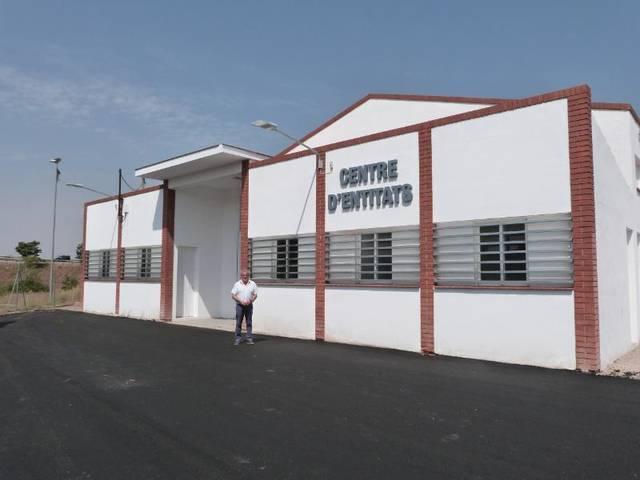 Acaben les reformes del nou Centre d'Entitats de les Borges